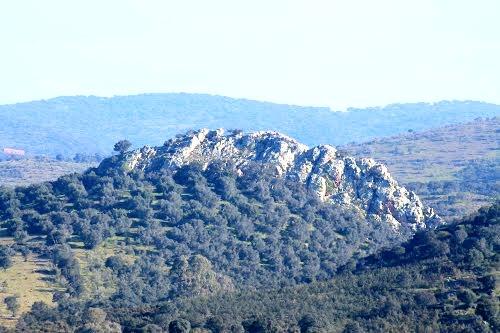 Imagen de la Peña de San Sixto (Encinasola)