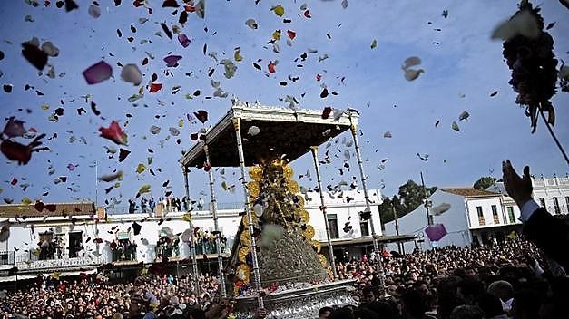 procesion-Virgen-Rocio